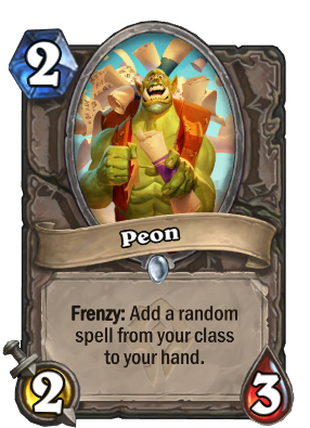 Peon Card Image