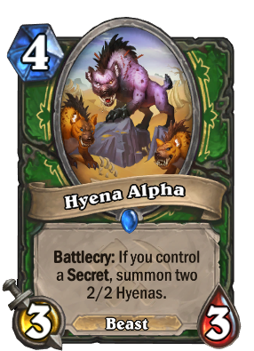 Hyena Alpha Card Image