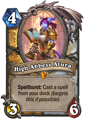 High Abbess Alura Card Image