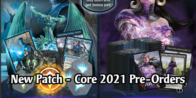 New MTG Arena Patch is Live - Companion Changes, Banned & Restricted Cards, Core 2021 Pre-Order