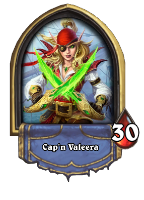 Cap'n Valeera Card Image