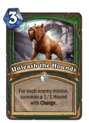 Unleash the Hounds Card Image