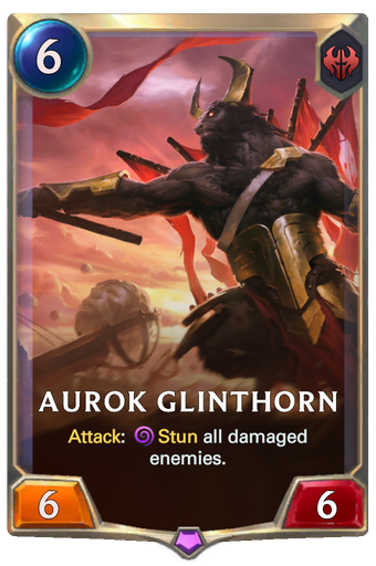 Aurok Glinthorn Card Image