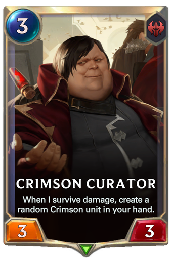 Crimson Curator Card Image