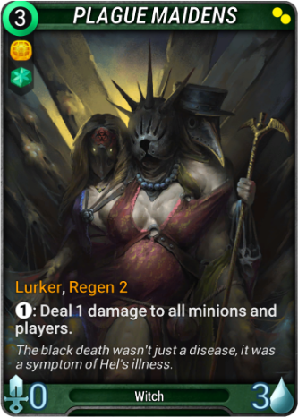 Plague Maidens Card Image