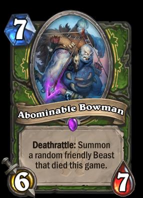 Abominable Bowman Card Image
