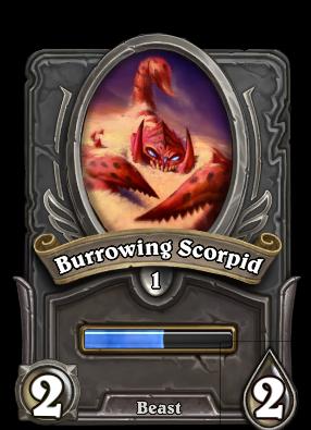 Burrowing Scorpid Card Image