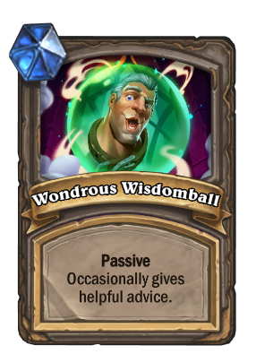 Wondrous Wisdomball Card Image
