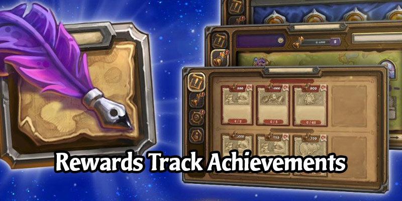 """We're Getting New Hearthstone Achievements With """"Sweet"""" Rewards Based on Your Rewards Track Leveling"""