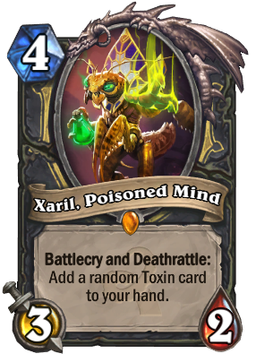 Xaril, Poisoned Mind Card Image