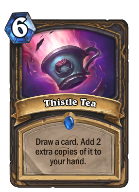Thistle Tea Card Image
