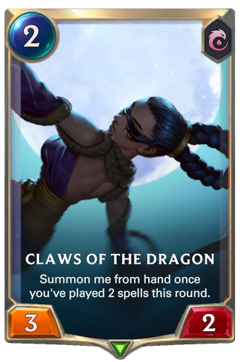 Claws of the Dragon Card Image