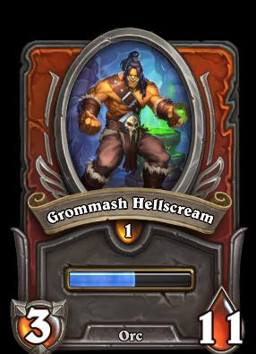 Grommash Hellscream Card Image