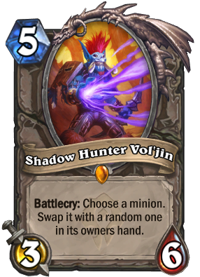 Shadow Hunter Vol'jin Card Image