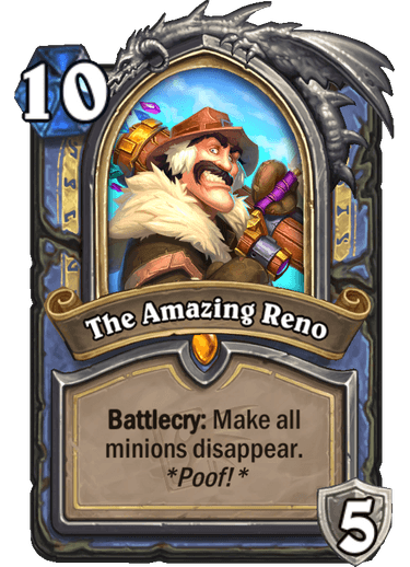 The Amazing Reno Card Image