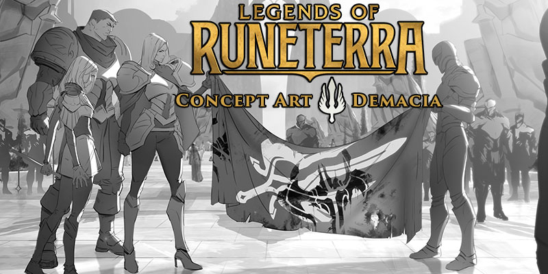 Legends of Runeterra Concept Art Spotlight - Demacia