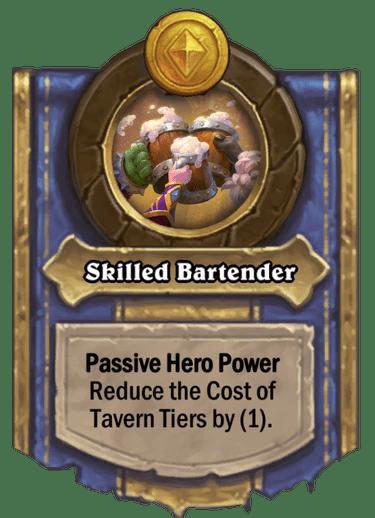 Skilled Bartender Card Image