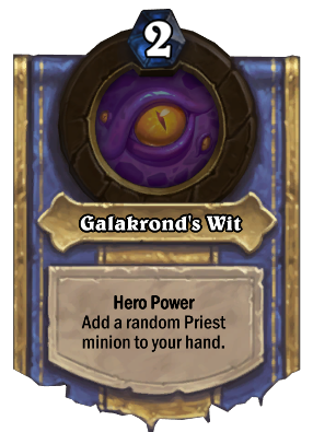 Galakrond's Wit Card Image