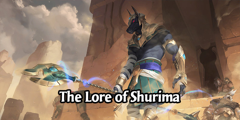 The Lore of Runeterra's Shurima and its Champions