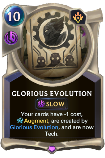 Glorious Evolution Card Image