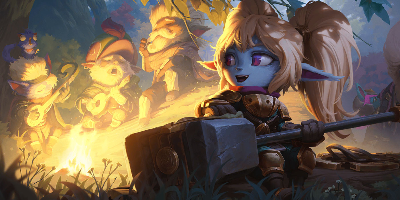 Poppy is the First New Bandle City Champion Revealed - 9 New Runeterra Cards