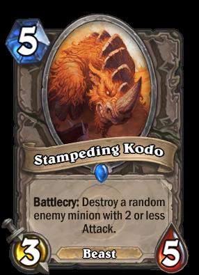 Stampeding Kodo Card Image