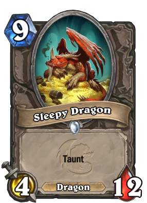 Sleepy Dragon Card Image