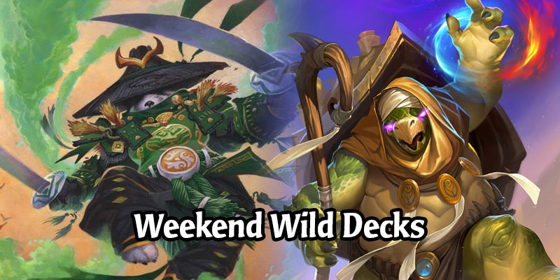 A Wild Hearthstone Weekend Featuring Token Druid, Turtle Mage, Holy Wrath Paladin, and More!