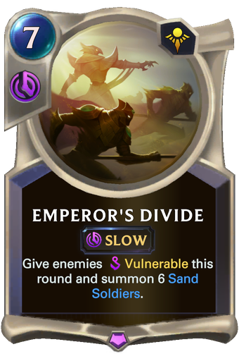 Emperor's Divide Card Image