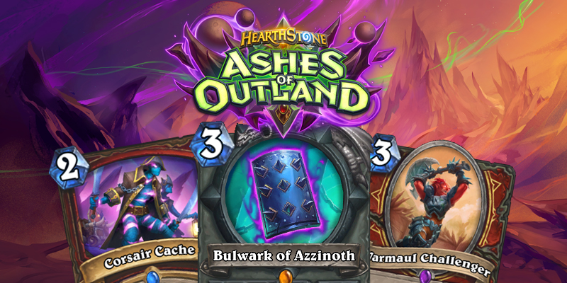 Our Thoughts on Hearthstone's Ashes of Outland Warrior Cards