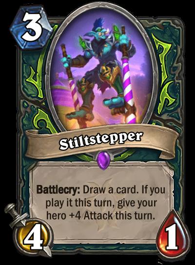 Stiltstepper Card Image