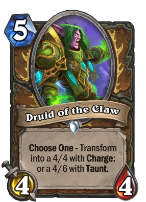 Druid of the Claw Card Image