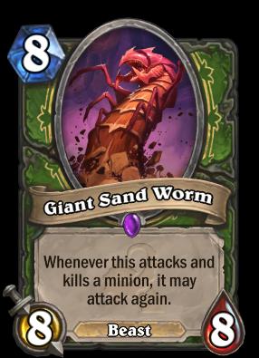 Giant Sand Worm Card Image