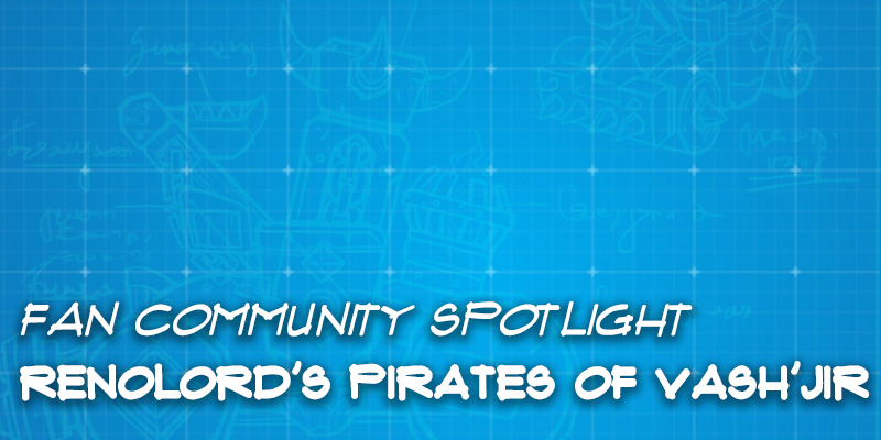 "Fan Community Spotlight - RenoLord's ""Pirates of Vash'jir"""
