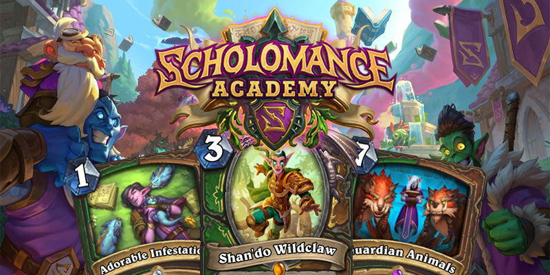 Our Thoughts on Hearthstone's Scholomance Academy Hunter/Druid Dual Class Cards