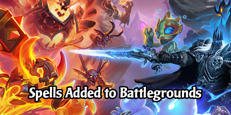 Spells are Being Added to Hearthstone Battlegrounds, N'Zoth is the New Hero