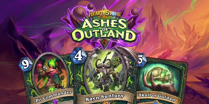 Our Thoughts on Hearthstone's Ashes of Outland Demon Hunter Cards