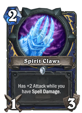 Spirit Claws Card Image