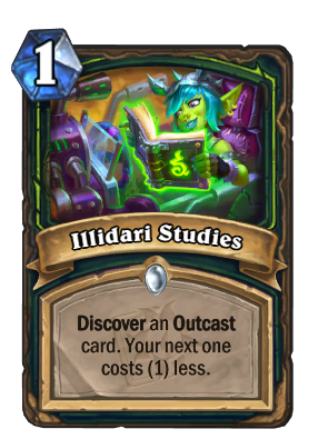 Illidari Studies Card Image