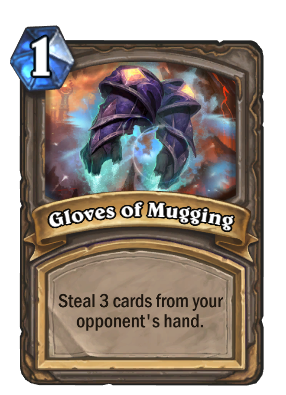 Gloves of Mugging Card Image