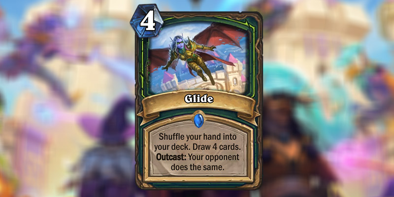 Glide is a New Demon Hunter Card Revealed for Hearthstone's Scholomance Academy Expansion