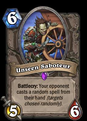 (6) Unseen Saboteur