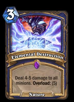 Elemental Destruction Card Image