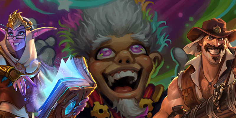 The Uldum Deck Recipes - Whizbang the Wonderful Gets a Sunny Update