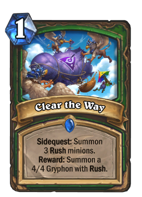 Clear the Way Card Image