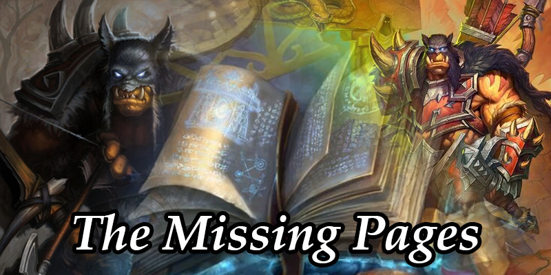The Story of Rexxar: The Missing Pages of Book of Heroes