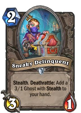 Sneaky Delinquent Card Image