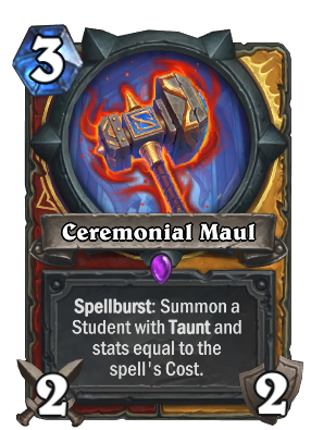Ceremonial Maul Card Image