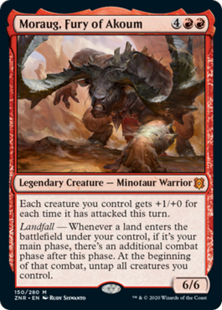 Moraug, Fury of Akoum Card Image