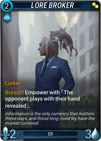 Lore Broker Card Image